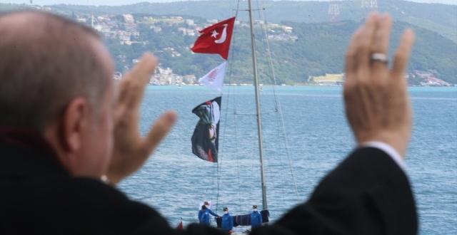 Boğaz'da Fetih Saygı Geçişi