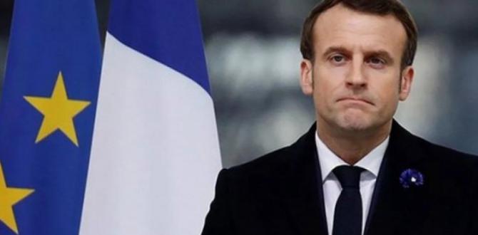 Son dakika: Macron'a büyük şok!