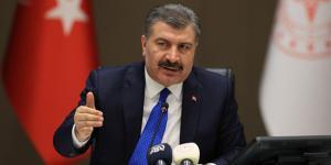 Sağlık Bakanı Fahrettin Koca, salgın tehdidinin henüz geçmedi
