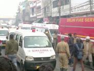 Hindistan'da Yangında biri çocuk, 6'sı kadın 8 kişi öldü