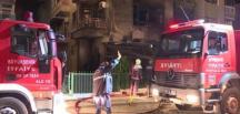 Ankara'nın Çankaya ilçesinde,iş yerinde yangın çıktı
