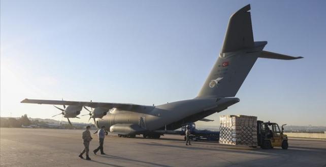 Türkiye'den Irak'a tıbbi malzeme yardımında bulundu