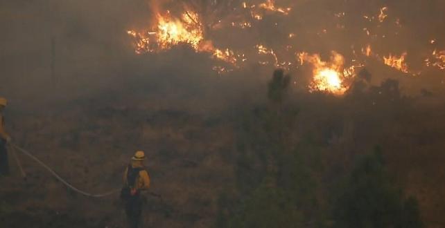 ABD'de çalı yangınları devam ediyor