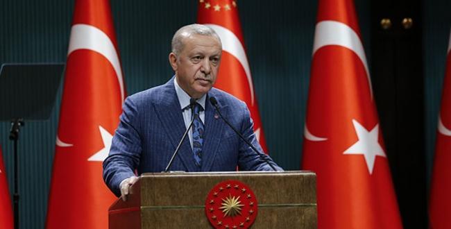 Cumhurbaşkanı Erdoğan askerlerin bayramını kutladı