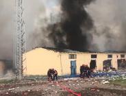 Sakarya'da havai fişek fabrikasında şiddetli patlama! Bakan Koca açıkladı