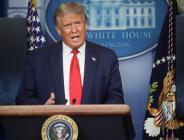 ABD Başkanı Trump, Beyaz Saray'da basın toplantısında Açıklama yaptı