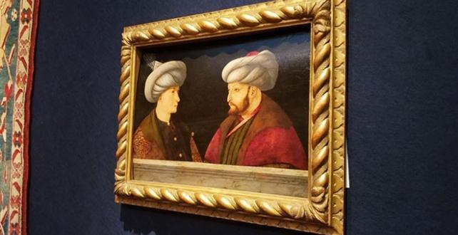 Fatih Sultan Mehmet'in portresi İstanbul'a getiriliyor