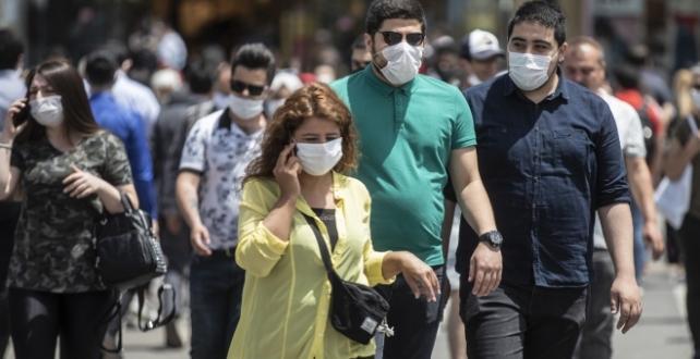 Türkiye'de son 24 saatte 1256 yeni vaka tespit edildi