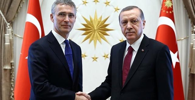 Cumhurbaşkanı Erdoğan ve Stoltenberg görüştü