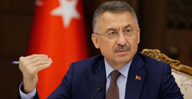 Cumhurbaşkanı Yardımcısı Oktay'dan AB'ye tepki