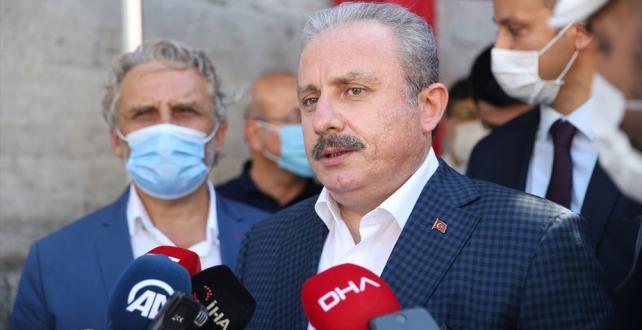 TBMM Başkanı Şentop: Türkiye Doğu Akdeniz'de hakkını koruyacak kudrettedir