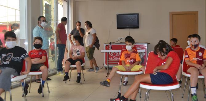 Kıraç Futbol Okulu Tedbirli