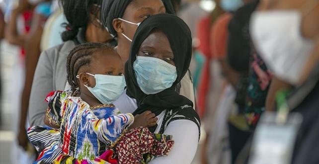Afrika'da vaka sayısı 1 milyon 290 bine yaklaştı