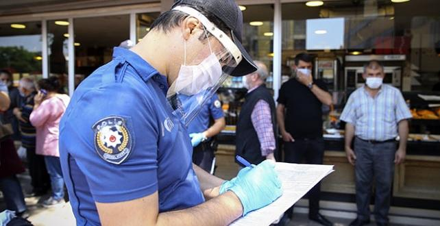 Erzincan'da tedbirlere uymayan 172 kişiye para cezası