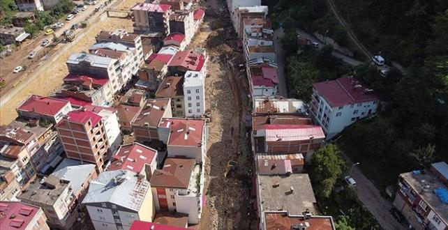 Giresun'daki afetzedelere 5 milyon lira destek