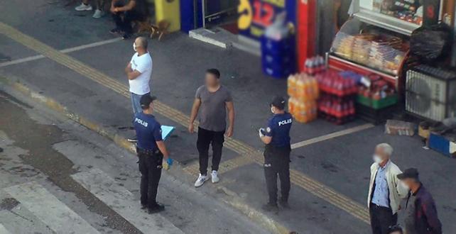 Maske takmayanları kamera tespit ediyor, polis ceza kesiyor