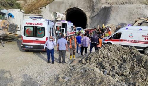 Kop Tüneli'nde patlama: 11 yaralı