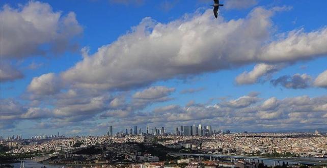 Marmara'da sıcaklık mevsim normallerinin 1-3 derece üzerinde olacak