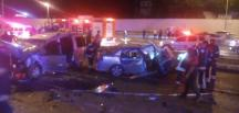 Denizli'de trafik kazası: 10 yaralı