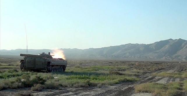 Ermenistan'ın saldırılarına Azerbaycan misliyle karşılık veriyor