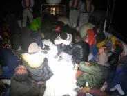 Aydın'da 28 düzensiz göçmen kurtarıldı