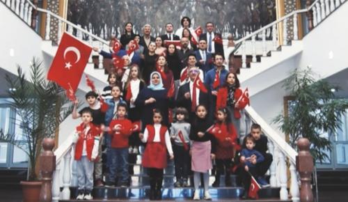Cumhuriyet Bayramı Kırgızistan'da kutlandı