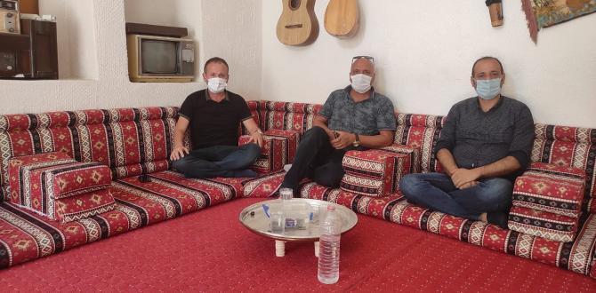 Kültür kulübünden Uygur Medya'ya ziyaret