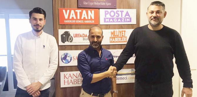 Almanya Temsilcisi Sukan Şimşek, Genel Yayın Yönetmeni Murat Uygur'u ziyaret etti
