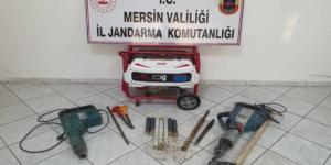 Mersin'de arkeolojik alanda izinsiz kazı yapan kişiler yakalandı