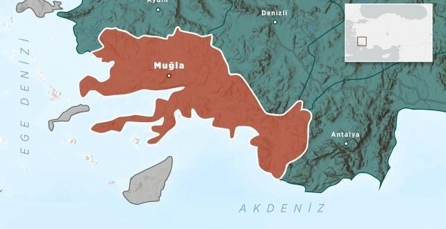 Bodrum açıklarında 4,3 büyüklüğünde deprem
