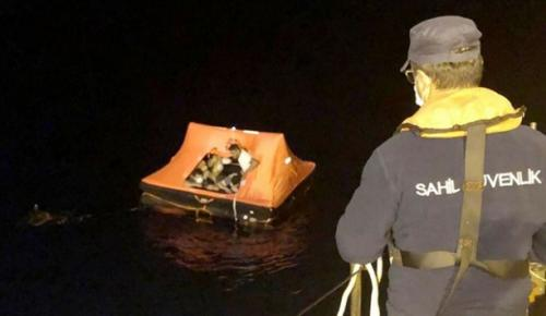Çeşme açıklarında 36 sığınmacı kurtarıldı