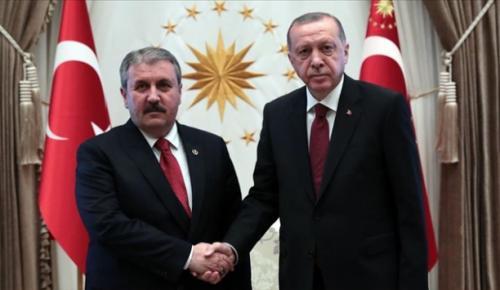 Cumhurbaşkanı Erdoğan'dan Destici'ye tebrik