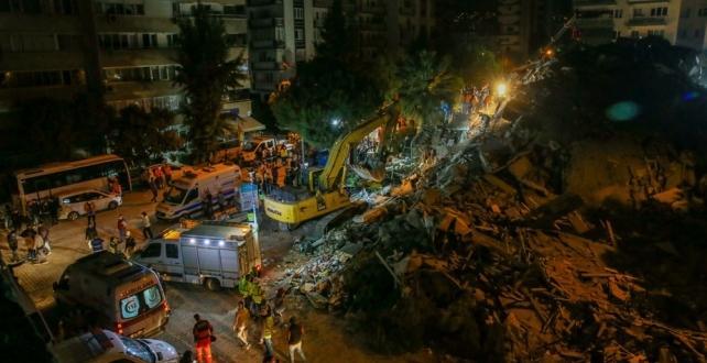 Deprem bölgesine 37 milyon lira yardım