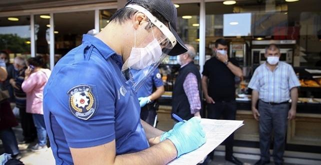 Kırklareli'nde tedbirlere uymayan 18 kişiye 34 bin 200 lira ceza