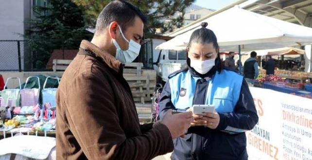 Amasya'da pazarlarda HES kodu uygulaması