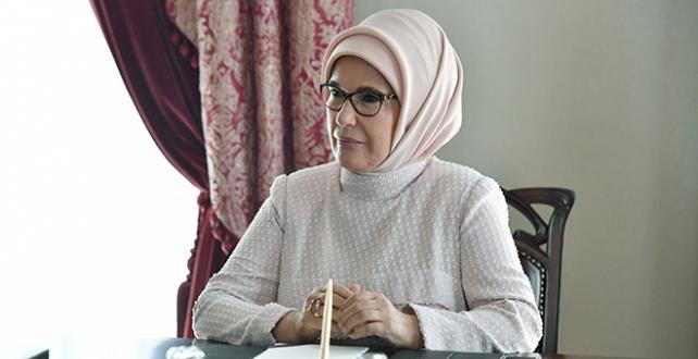 Emine Erdoğan, KKTC'nin 37'nci kuruluş yılını kutladı