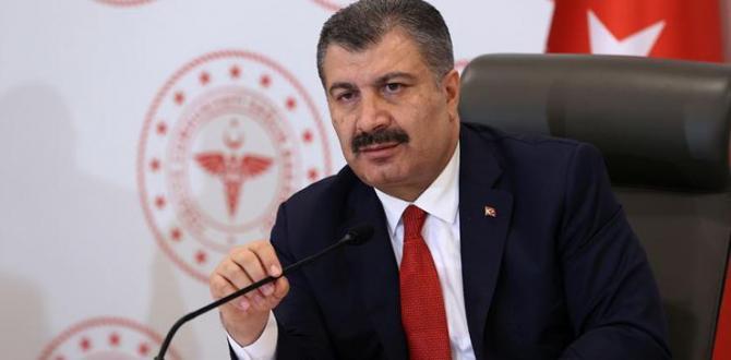 Sağlık Bakanı Fahrettin Koca gençlere seslendi