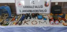Kırıkkale'de kaçak kazı yapan 6 kişi yakalandı