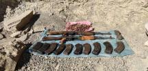 Van'da teröristlerce kullanılan silah ve mühimmat ele geçirildi