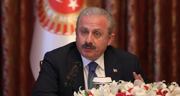 TBMM Başkanı Şentop Türk gemisine yapılan müdahaleyi kınadı!