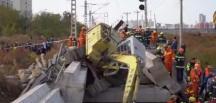 Çin'de köprü yıkıldı: 7 ölü, 5 yaralı