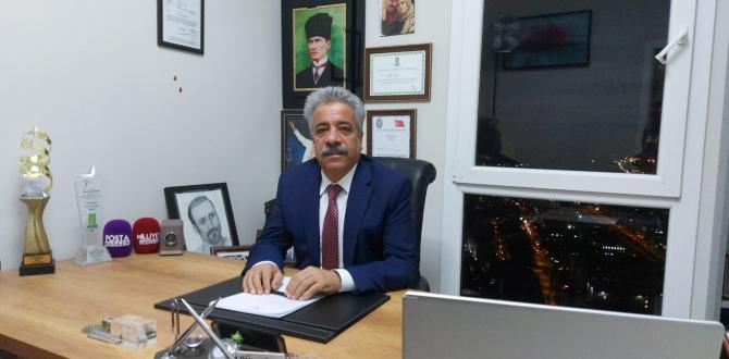 Gazeteci ve İş İnsanı İbrahim Şeker'in Yılbaşı Mesajı