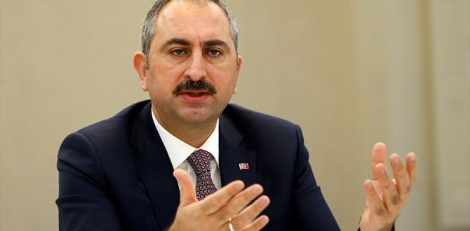 Adalet Bakanı Gül tepki gösterdi!