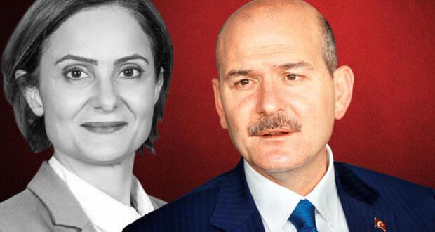 Bakanı Soylu'dan Canan Kaftancıoğlu açıklaması