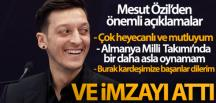 Özil Fenerbahçe'ye imza attı