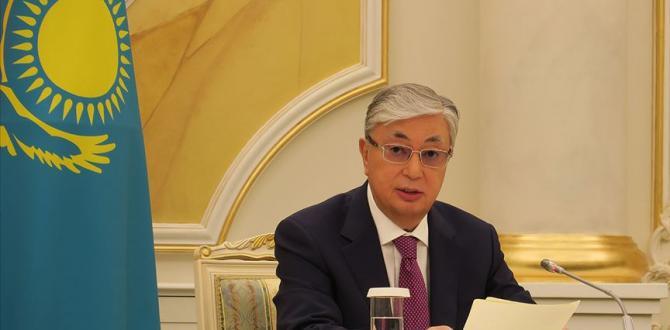 Kazakistan Cumhurbaşkanı Tokayev'den tepki!