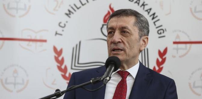 Milli Eğitim Bakanı Ziya Selçuk'tan 'LGS' açıklaması