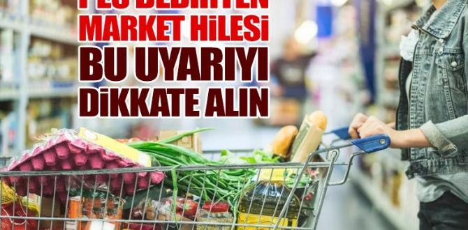 'PES' DEDİRTEN MARKET HİLESİ!