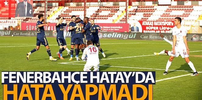 Hatayspor – Fenerbahçe 1-2 (Maç Sonucu