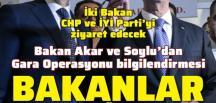 Akar ve Süleyman Soylu Gara Operasyonu hakkında Meclis'i bilgilendirecek